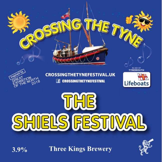2019 Crossing The Tyne Banner + Shiels Festival + Beer