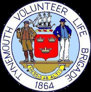 Tynemouth Volunteer Life Brigade Logo 300x304